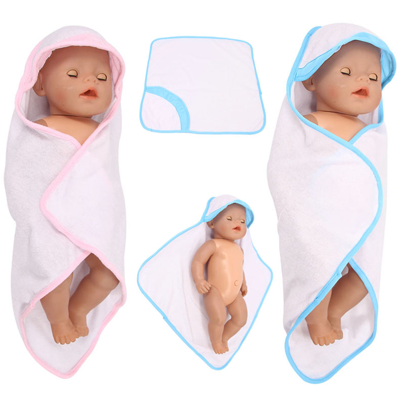 10 Styles Bath Towel Pajamas Robe Doll Clothes Accessories For 43 Cm Born Baby Our Generation Christmas Birthday Gift