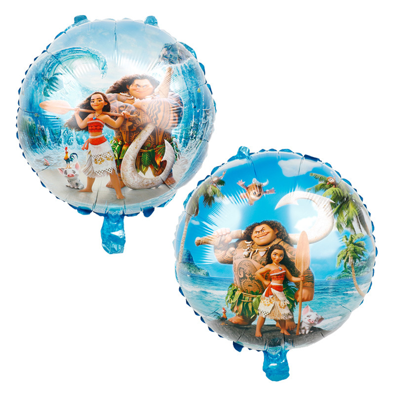 1pcs/lot 18 inch Maui Film Theme Balloons Party Decoration Balloons Rotate Balloon Birthday Party Supplies image