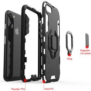 Image 5 - KISSCASE מקרה עבור Huawei Honor 10 6X 8X מקס שריון מקרי מחזיק טלפון כיסוי עבור Huawei Y9 2019 P20 P30 פרו לייט Coque