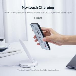 Image 5 - ORICO Tề Đế Sạc Không Dây Cho iPhone 11 Pro X XS 8 XR Samsung S9 S10 S8 S10E Nhanh Không Dây đế Sạc ZMCL01 BK