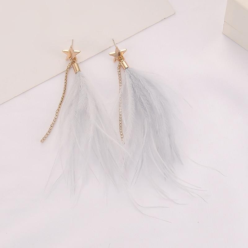 Fashion Femmes Cristal Strass Rectangle Ear Stud Drop Dangle Boucle d/'oreille Bijoux