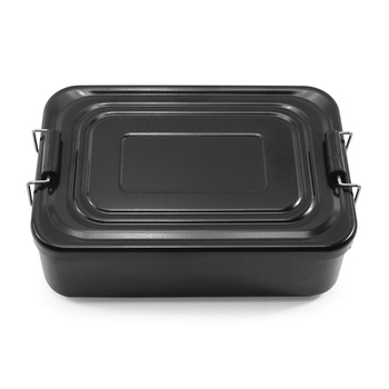 Aluminum Lunch Box Adventurer Survival Kit Box Lunch Box Portable Food Container for Outdoors Camping Hiking Travel 1