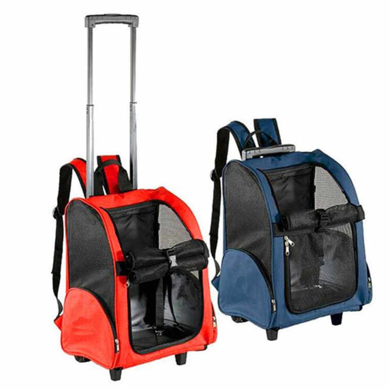 1 pcs Pet transport carrying case Doghouse Cat nest Pet bag trolley case Suitable for 7.5kg cats dogs Pet out transport package