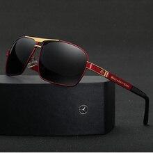 New Benz sunglasses fashion men UV400 sunglasses driving gla