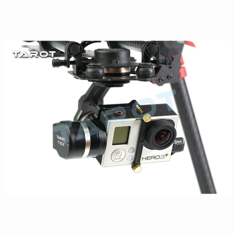 Tarot TL3T01 Update from T4 3D 3D Metal 3 axis Brushless Gimbal for FPV RC Drone Photography for GOPRO4 for Gopro3 for Gopro3+ - 2