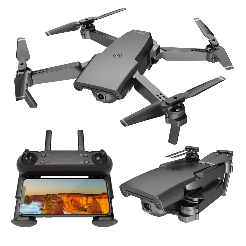 S8 4K Drone with Camera GPS 1080P HD Max 12 Mins WiFi FPV Optical Flow Profissional Foldable RC Drone Quadrocopter Dron RTF Toys