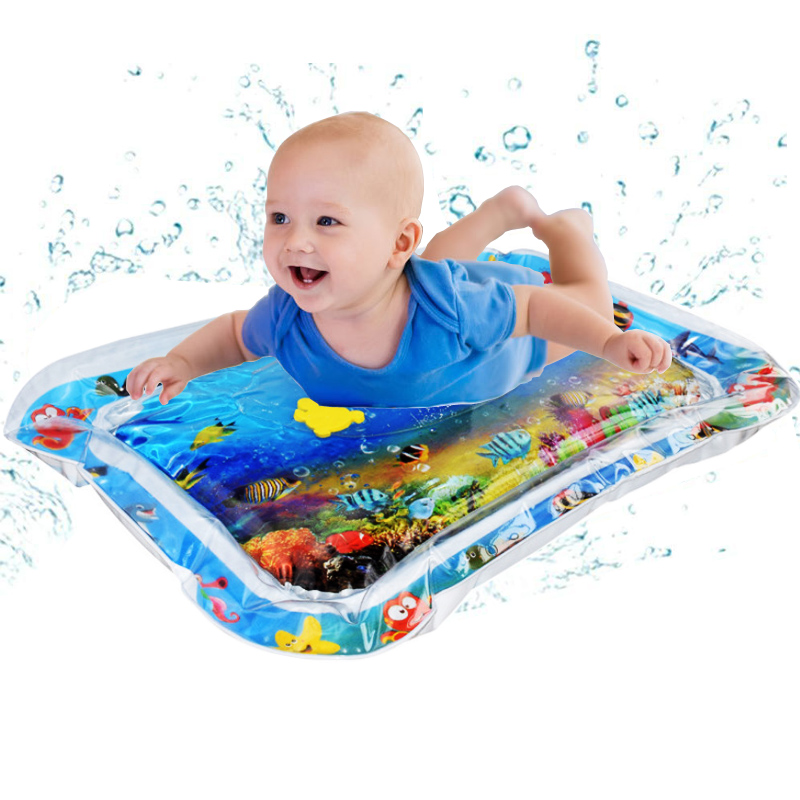 2020 Inflatable Infants Tummy Time Activity Mat Baby Play Water Mat Toys For Baby Fun Activity Play Center Baby Toddler Toys