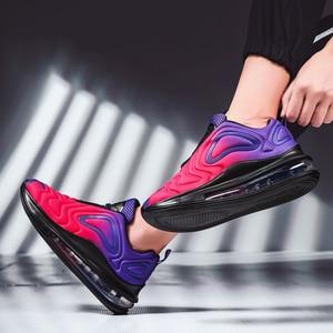 Image 3 - النساء أحذية أحذية رياضية وسادة هوائية المدربين أحذية امرأة منصة حذاء رياضة الخريف الشتاء الأحذية تنفس لينة سلة فام