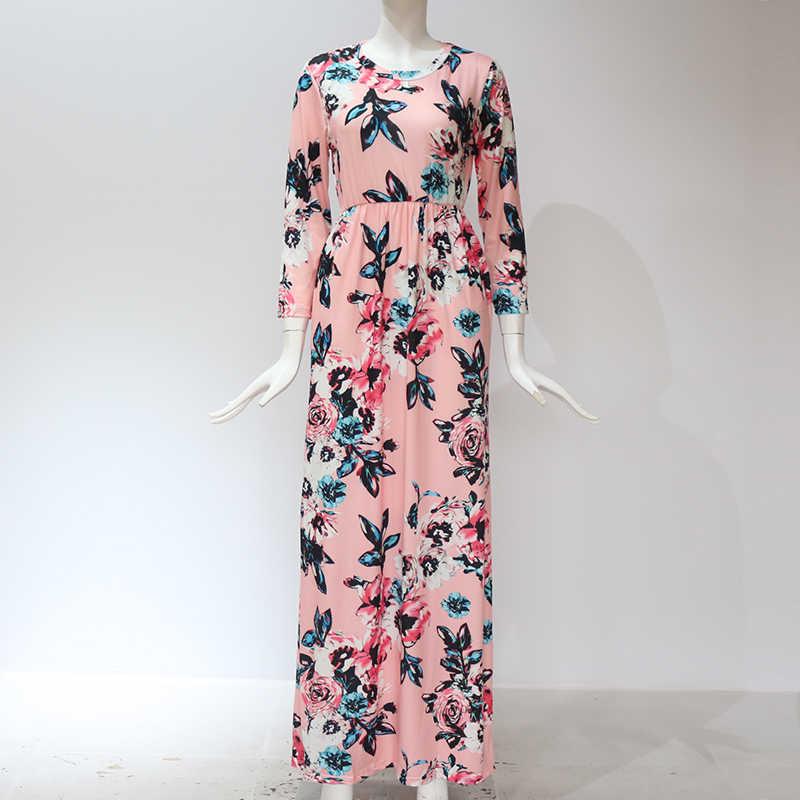 Белое длинное платье с цветочным принтом Бохо пляжное платье туника Макси платье женское вечернее платье солнце платье Vestidos De Festa Xxxl