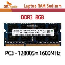 Sk hynix DDR3 RAMS 8GB 2RX8 PC3L-12800S 1600MHz 1.35V dizüstü bilgisayar belleği 4GB 10600S 2GB 8500S 1066MHz 1333MHz