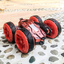 2.4G 4WD Double-Sided Stunt Car 360 Rotating Children Drift Stunt Deformation Re