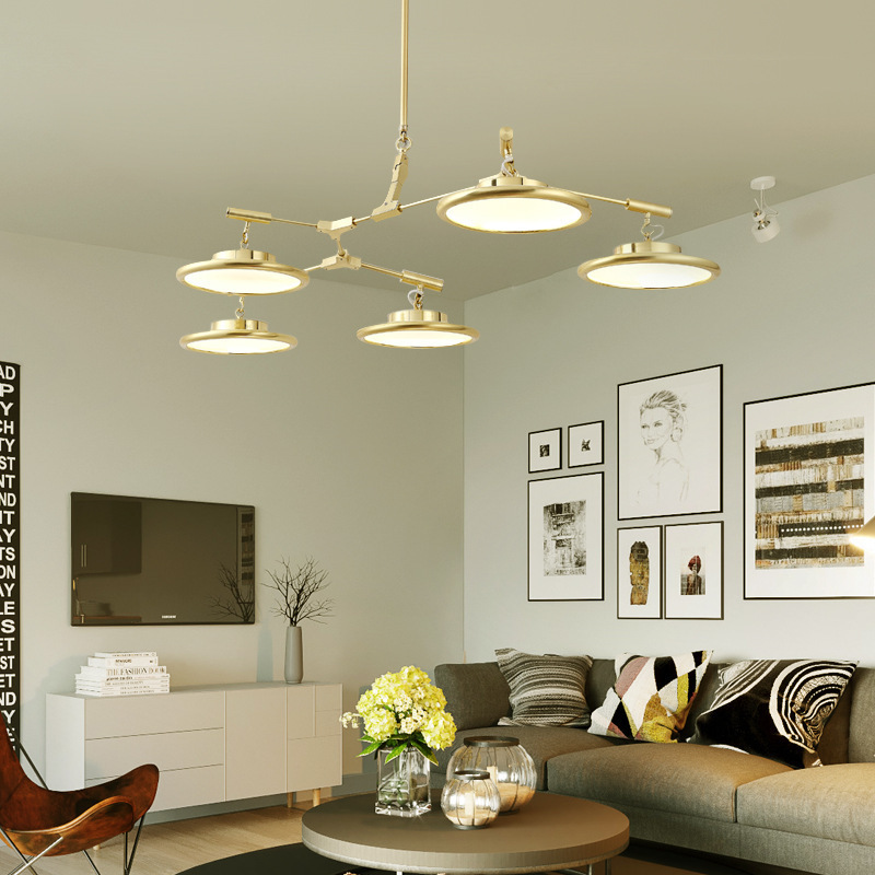 Nordic Luminaria Pendant Lights Iron  Home Decoration E27 Light Fixture  Restaurant  Luminaire  Hanging Lamp