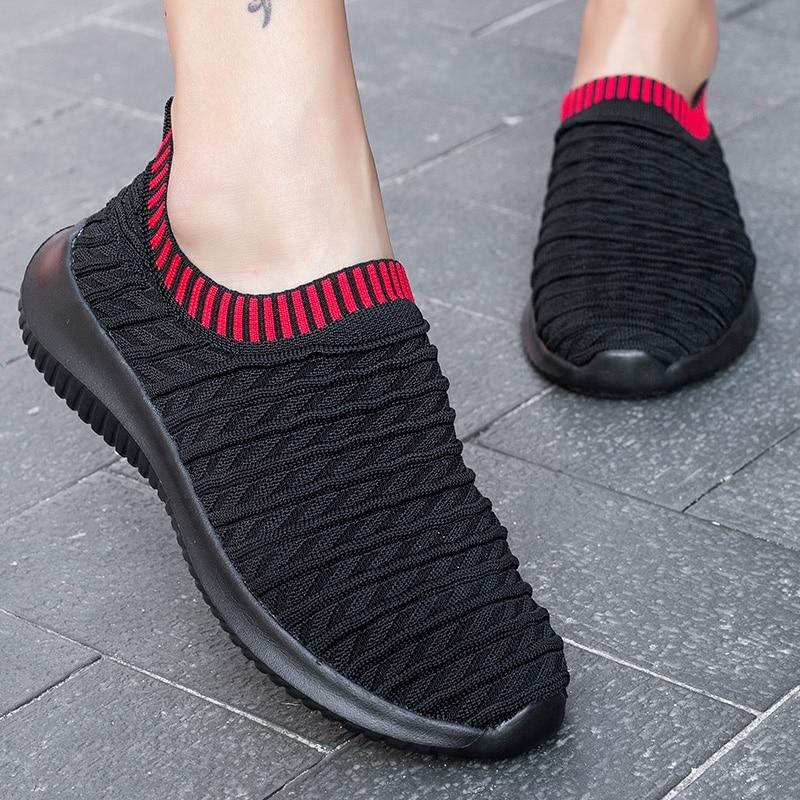Tenis Feminino Men Tennis Shoes Women Sneakers Slip on Trainers Outdoor Gym Sport Shoes Zapatillas Hombre Chaussure Sport Femme