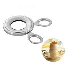 16 шт. Кухня из нержавеющей стали Eggshell открывалка для яиц с ручкой переносной резак ножницы