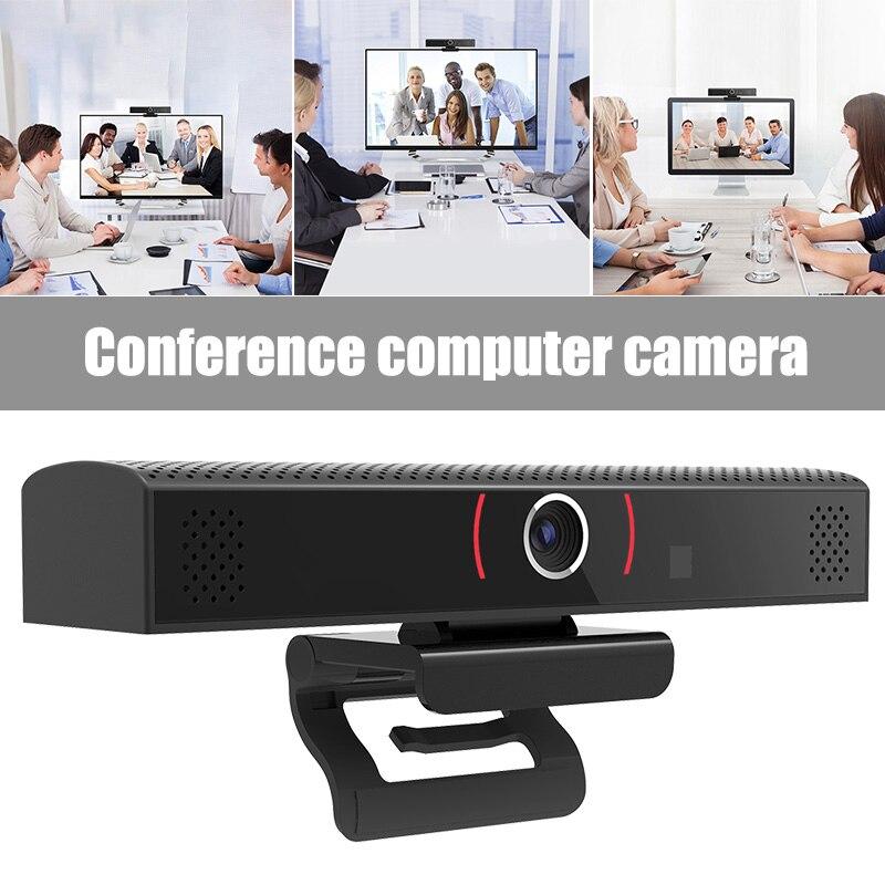 Caméra Webcam externe numérique micro intégré caméras sans pilote 1808P pour la conférence de classe en ligne AS99