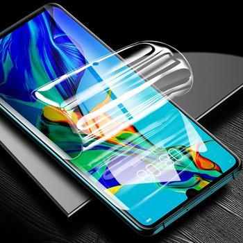 Перейти на Алиэкспресс и купить Защитная пленка для экрана для Infinix S5 Lite Полное покрытие мягкая Гидрогелевая пленка HD защитная пленка не закаленное стекло