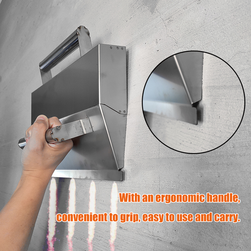 Building Spatula Concrete Trowel Stainless Steel Wall Plastering Tools For Bricklayer Decorative Trowel Building Tool