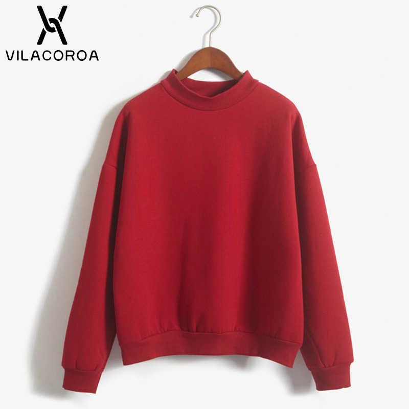 9 색 겨울 회색 까마귀 라운드 넥 긴 소매 벨벳 따뜻한 스웨터 여성 한국어 블랙 느슨한 후드 여성 캐주얼 코트