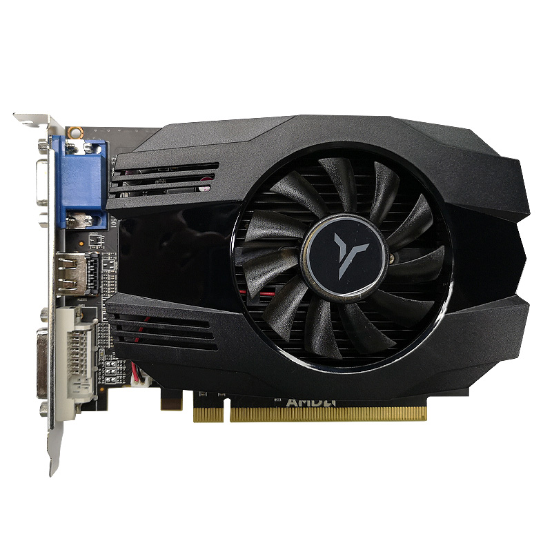 Yeston R5 240-4G D3 VA Graphic Card DirectX 11 Video Card 4GB/64Bit 133Hz 2 Phase Low Power Consumption GPU