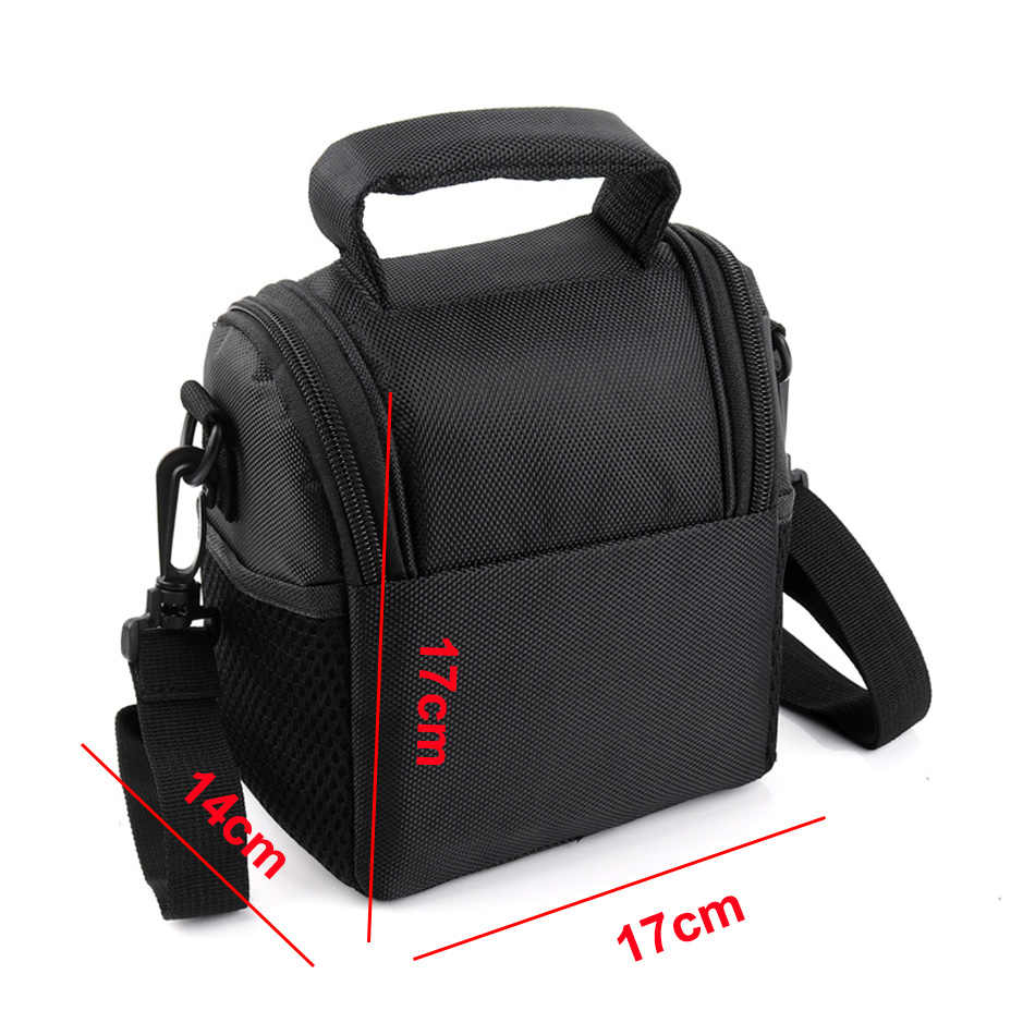 Caso Bolsa de câmera para Panasonic Lumix S1M FZ100 FZ85 FZ83 FZ82 FZ80 DC-FZ85 DC-FZ83 DC-FZ82 DC-FZ80 GX80 GX85 Câmera Digital saco