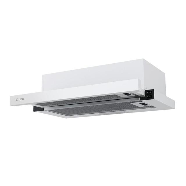 LEX HUBBLE 600 WHITE кухонная вытяжка