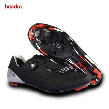 Ultralight Road Cycling Shoes Carbon Fiber Breathable Road Bike Slef-locking Bicycle Shoe Men Athletic Triathlon Racing Sneakers