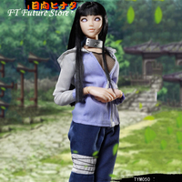 In Stock TYM050 1/6 NARUTO Ninja Hyūga Hinata Full Set 12 inches Cartoon Girl Anime Action Figure Model for Fans Holiday Gift