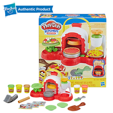 Hasbro Play-Doh Stamp n Top Pizza Oven Toy with 5 Non-Toxic Play Doh Colors Kitchen Creations Compound Clay for Kids Fun