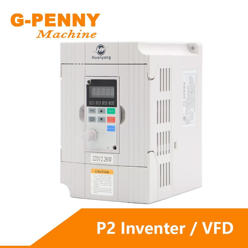 220v 2.2kw/1.5kw VFD silnik wrzeciona cnc sterownik regulator prędkości napęd o zmiennej częstotliwości VFD falownik wektorowy 1HP w 3HP wyjście!
