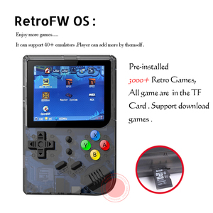 Image 2 - New RG300 version 2 Video games Portable Retro FC console Retro Game Handheld Games Console Player RG 300 3000 GAMES Tony system