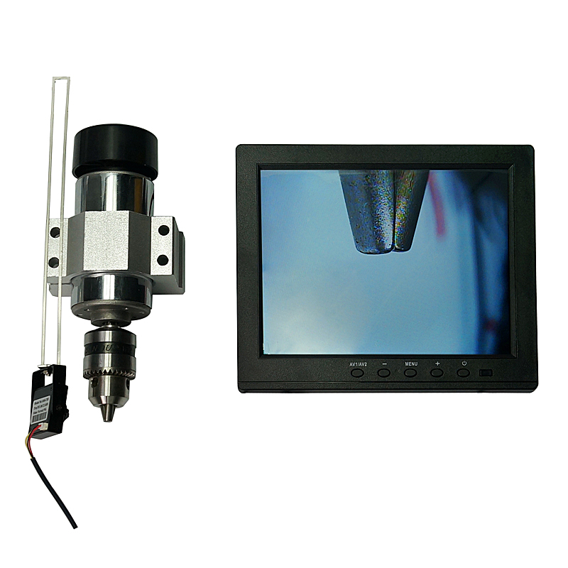 Universal CNC Professional CCD Camera System 1080P With 7 Inch Monitor 1/2.5'' Lens BNC Connector For Engraving Machine