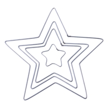 Dream-Catcher Diy-Accessories Macrame Star Craft Hoop Metal New