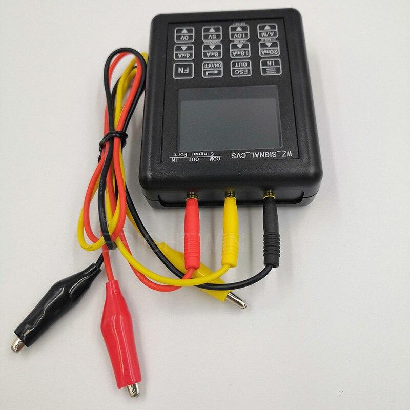 Image 4 - Precisión 4 20mA 0 10V generador de señal control de proceso calibrador de señal fuente constante 0 20mA simulador-in Generadores de señal from Herramientas on AliExpress