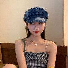 Hats Autumn Beret Flatpainter-Caps Boina Winter Girl Wool Bonnet Sombreros Warm Pour