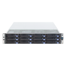 19 inches 2U rack mount hot swap chassis 12HDD drive bays IPFS storage server case S265 12 6GB mini sas backplane 650MM