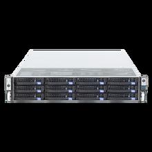 19 zoll 2U rack berg hot swap chassis 12HDD stick buchten IPFS lagerung server fall S265 12 6GB mini sas backplane 650MM