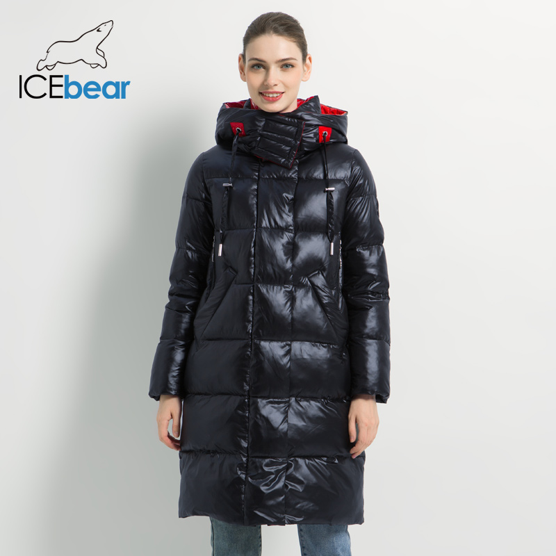 2019 New Winter Women Jacket Fashion Woman Cotton High Quality Female Parkas Hooded Women's Coats Brand Clothing GWD19501(China)