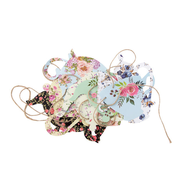 Party Garland with Floral Print
