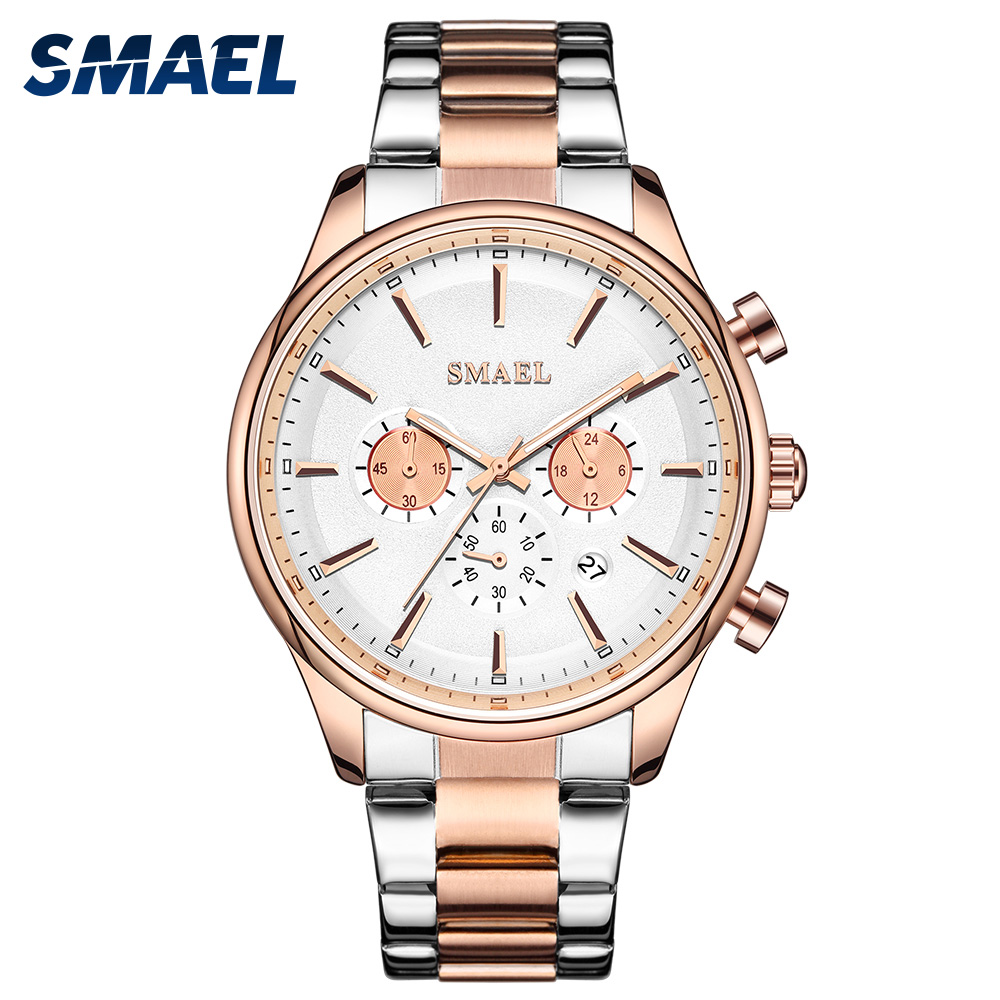 New Wacth In 2020 Quartz Watches For Men Waterproof Relogio Masculino Auto Date Male Clock 9130 Stainless Steel Wristwatches Men