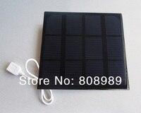 3 Вт 6 в солнечное зарядное устройство монокристаллическая панель солнечных батарей Diy Солнечное мобильное зарядное устройство для мобильн...