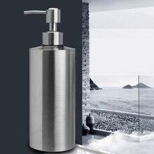 Герметичный дозатор жидкого мыла, контейнер для шампуня, бутылка для лосьона для ванной, кухонный гель для душа из нержавеющей стали
