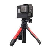 מיני Selfie מקל + להארכה ידית חצובה לgopro Hero 7 6 5 4 עבור EKEN H9 H9R