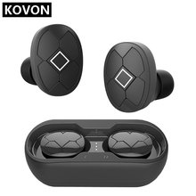 цена на IPX5 Waterproof Bluetooth Wireless In-ear Headset Stereo Mini Earphone Noise Canceling Built-in Microphone For Mobile X10pcs