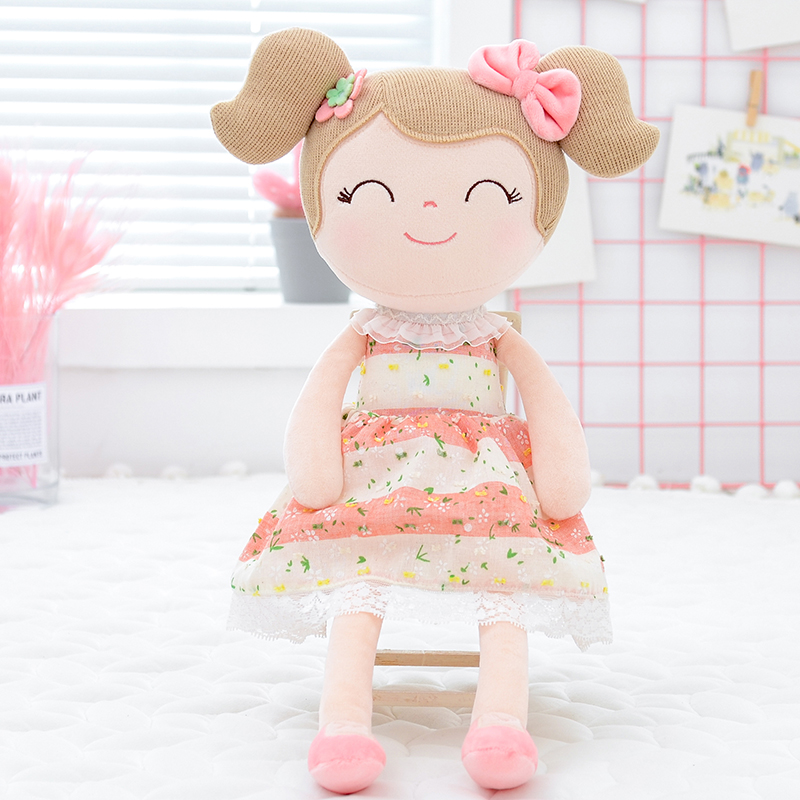 Gloveleya Plush Dolls Spring Girl  Baby Doll Gifts Cloth Dolls Kids Rag Doll Plush Toys Kawaii