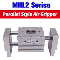 SMC Type Pneumatic Gripper Wide Type Air Gripper Parallel Cylinder Double Acting MHL2 25D MHL2 25D1 MHL2 25D2 aluminium Clamps