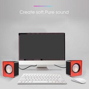 Image 5 - Kebidu Taşınabilir USB 2.0 Multimedya Masaüstü Bilgisayar Dizüstü Mini Taşınabilir Hoparlör Müzik Stereo Ev Sineması Parti Hoparlör 3.5mm