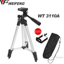 Tripod Ile 3 Way HeadTripod Nikon D7100 D90 D3100 DSLR Sony NEX 5N A7S Canon 650D 70D 600D WT 3110A