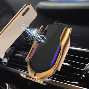 Image 5 - bundwin Car Wireless Charger 10W Automatic Clamp Phone Holder for Huawei Mate 20 Pro Samsung S9 Note9 Note8 Qi Fast Charge Mount