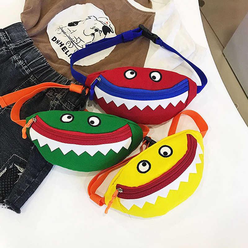 ילדי ילדים מותניים חבילות עמיד בד Tote קורדרוי מזדמן כתף תיק חמוד מיני מטבע ארנק קטן מפלצת ילד ילדה מתנות
