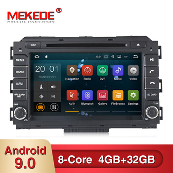 MEKEDE 4G RAM 32G ROM Android 9.0 Car Multimedia player for KIA Carnival Sedona 2015 Car GPS Navigator dvd player